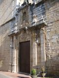 Vista de la Portada de l'església de Sant Llorenç de Càlig