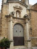 Estatuillla de la Portada de l'església de l'Assumpció de Traiguera