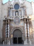 Portada principal de l'Església de la Mare de Déu de l'Asunción de Vinaròs