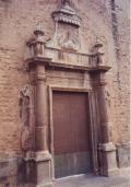 Puerta de la Capilla de la Comunión de la Iglesia de la Asunción de Onda