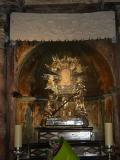Altar del Santuario de la Cueva Santa, Altura