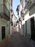 Calle típica de el Valle de Almonacid