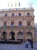 Fachada del Ayuntamiento de Castellón de la Plana