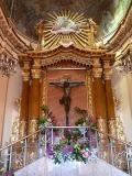 Vista de l'altar de l'Ermitori del Calvari, L'Alcora