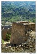 Vista de Horno para minerales de las antiguas minas de Alcora