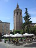 Vista general de la Torre Miguelete en Valencia