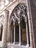 Detalle de el Claustro de el Convento de Santo Domingo en Valencia
