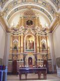 Interior de l'Església Arxiprestal de Sant Pere i Sant Pau. Ademuz