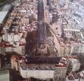 Vista aèria del centre d'Alzira