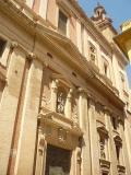 Accés principal de l'Església  de les Escoles Pies de València.