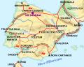 Antiga via creuava de nord a sud les terres d'Algemesí