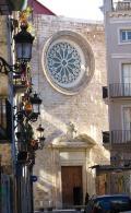 Iglesia de Santa Catalina, plaza Lope de Vega en Valencia