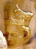 Dtalle del Cap de bisbe, Iglesis Santa Caterina, València