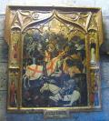 Imagen de Sant Jordi en la Batalla del Puig, Capilla de Sant Jordi, Valencia