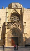 Puerta de los Apóstoles, de la Catedral de Valencia