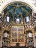Vista de l'Altar Major de la catedral, renaixentista i barroc
