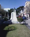 Vista  de l'Estàtua  del tenor Lamberto Alonso