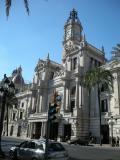 Palau de l'Ajuntament de València vist des de la plaça