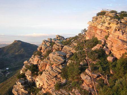 Panoramica del Garbi y entorno de Calderona