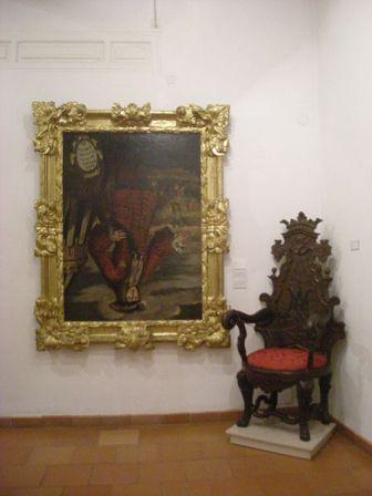 Jativa: Felipe V boca abajo en el Almudin