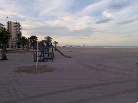 Zona turística playa de Gandia