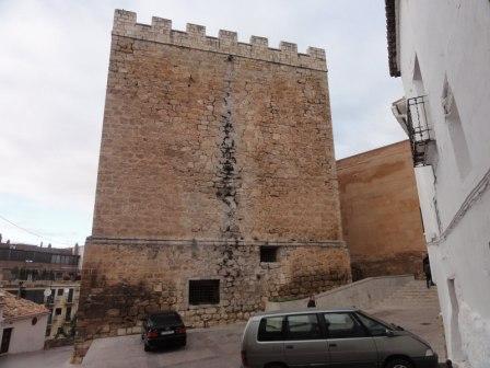 Torre del Homenaje del castillo de Requena