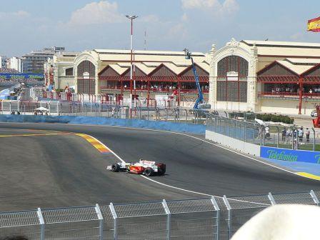 circuito Formula 1 de Valencia